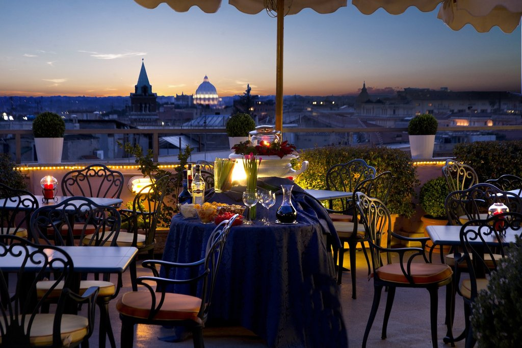 Marcella Royal Hotel - Roof Garden <br/>Image from Leonardo