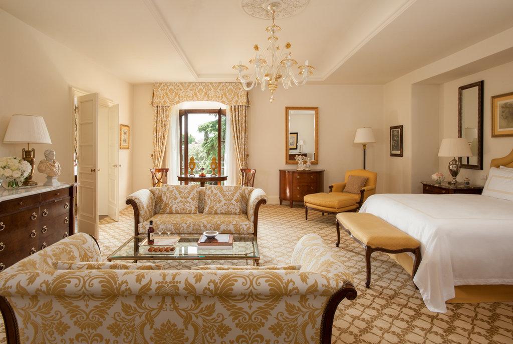 Four Seasons Firenze Hotel-Contemporary Suite<br/>Image from Leonardo