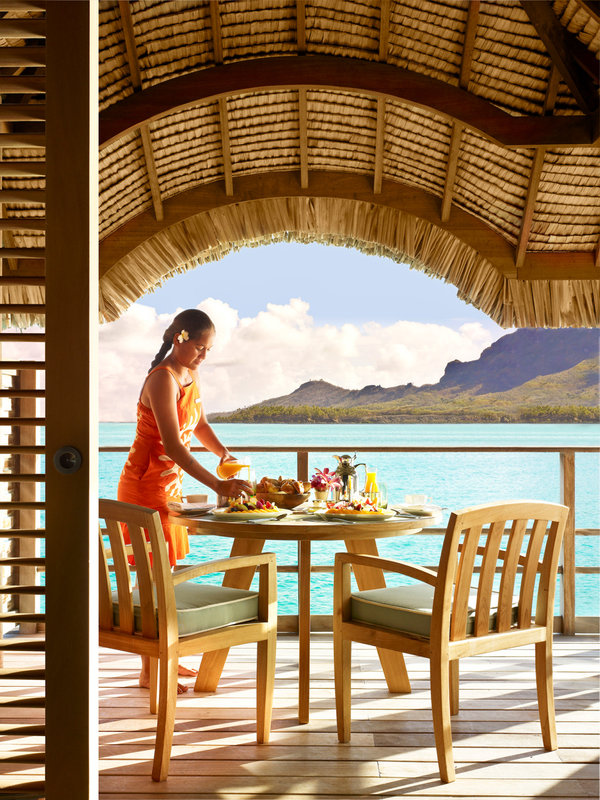Sofitel Bora Bora Private Island-In-Bungalow dining<br/>Image from Leonardo