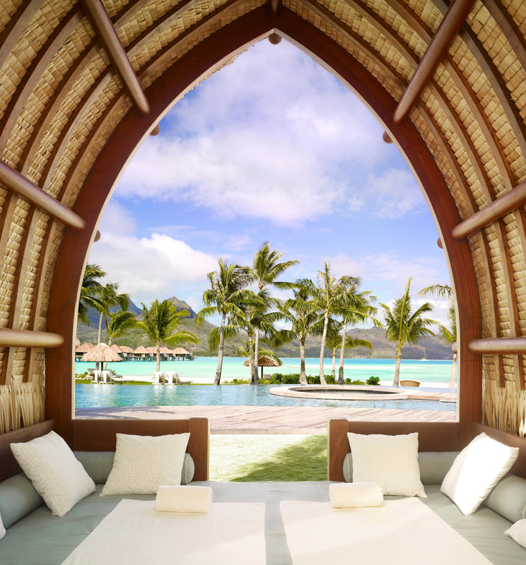 Sofitel Bora Bora Private Island-Pool cabana<br/>Image from Leonardo