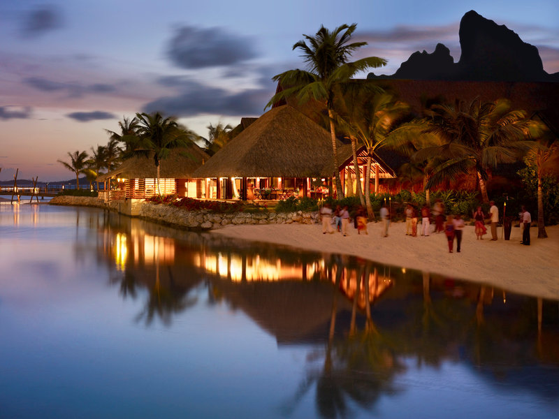 Sofitel Bora Bora Private Island-Sunset Bar and Restaurant<br/>Image from Leonardo