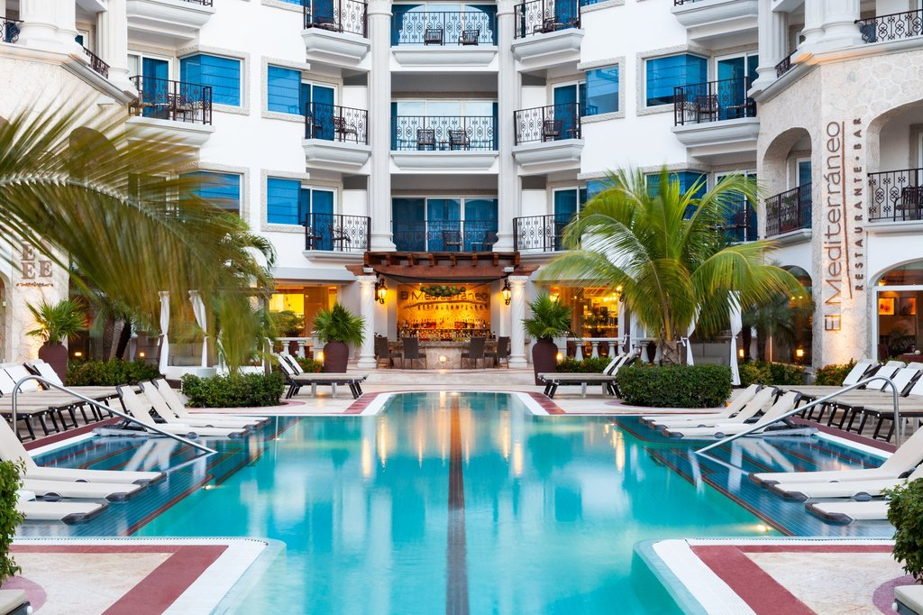Hilton Playa del Carmen  - El Mediterraneo Restaurant <br/>Image from Leonardo