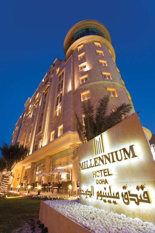 Millennium Doha - Millennium Hotel Doha Exterior <br/>Image from Leonardo
