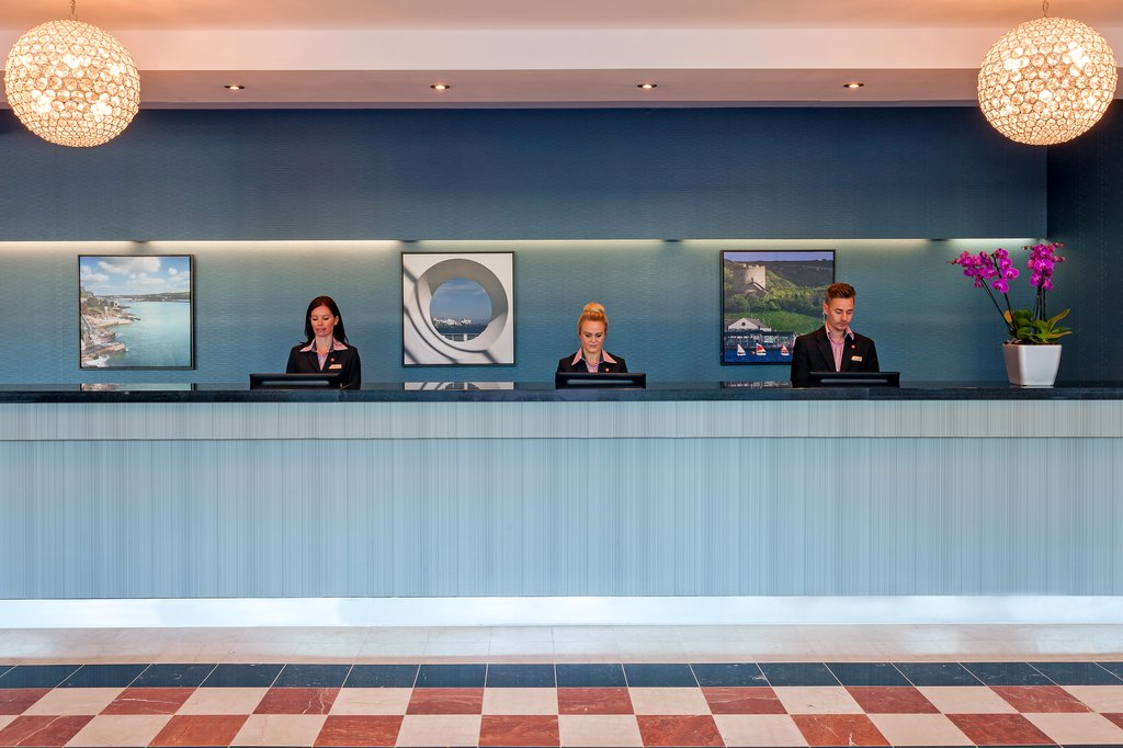 Jurys Inn Plymouth-Lobby With Staff<br/>Image from Leonardo