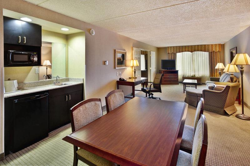 Holiday Inn Ann Arbor Univ Michigan Area-King Boardroom Suite Dining Room<br/>Image from Leonardo