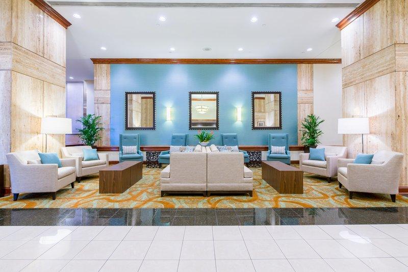 DoubleTree by Hilton Hotel Philadelphia Airport-Hotel Lobby<br/>Image from Leonardo