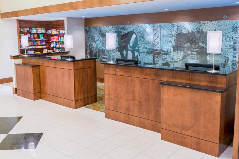 DoubleTree by Hilton Hotel Philadelphia Airport-Hotel Front Desk<br/>Image from Leonardo