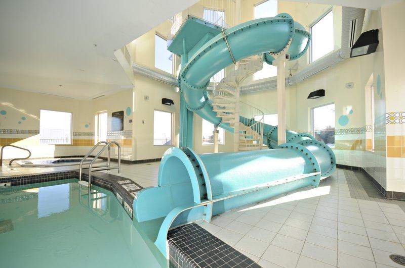 Hampton Inn &amp; Suites by Hilton Saint John-Waterslide<br/>Image from Leonardo