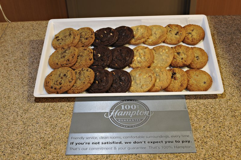Hampton Inn &amp; Suites by Hilton Saint John-Welcome Cookies<br/>Image from Leonardo