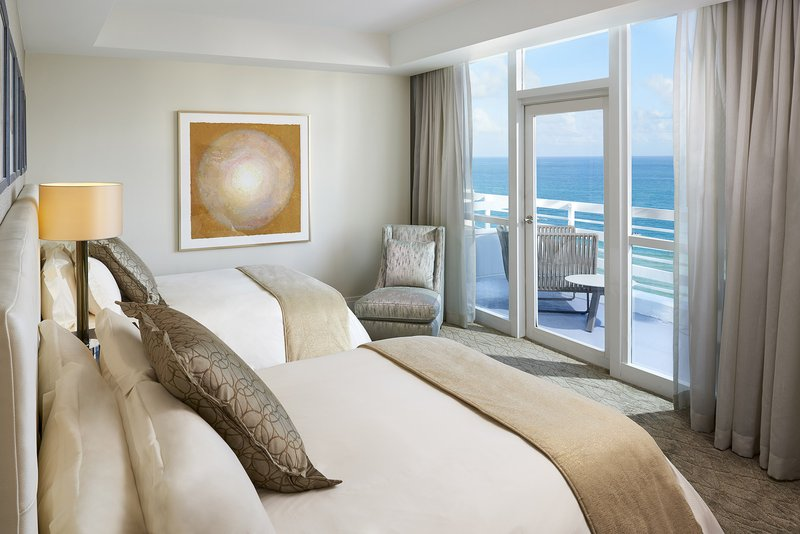 Fontainebleau Miami Beach - La Mer Connecting Double Bedded Room Sml <br/>Image from Leonardo