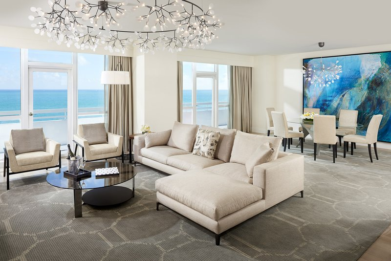Fontainebleau Miami Beach - Le Sable Living Dining <br/>Image from Leonardo