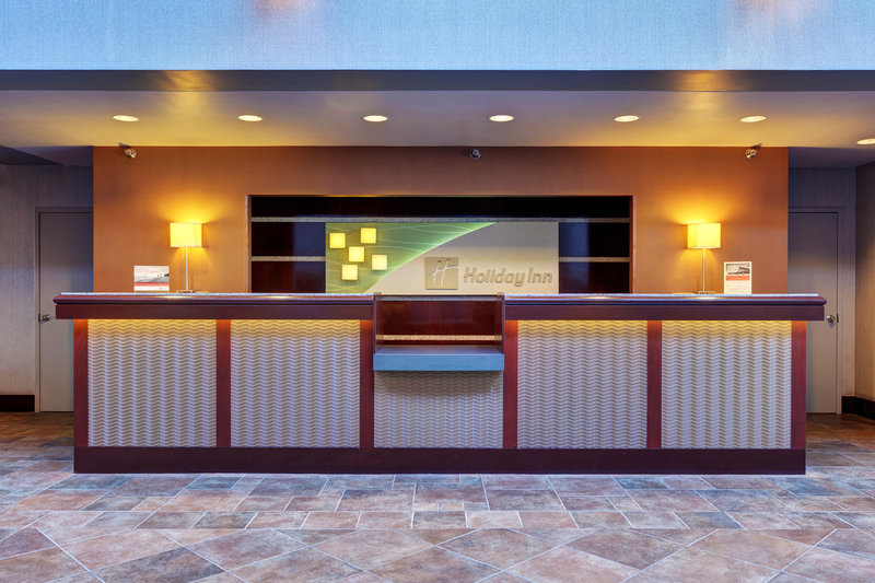 Holiday Inn Des Moines Downtown - Mercy Area-Front Desk<br/>Image from Leonardo
