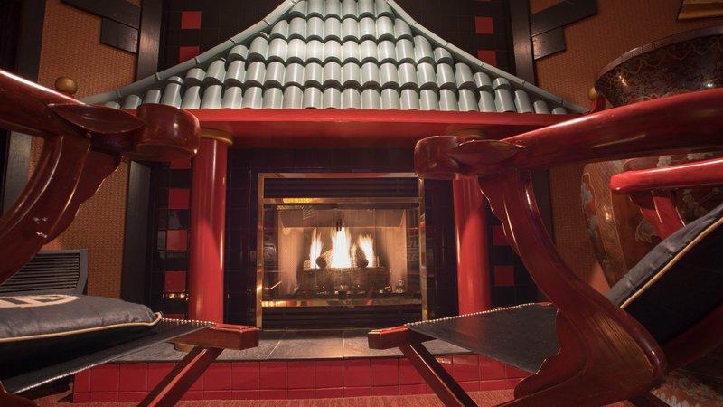Best Western Fireside Inn-Suzie. Fireplace Of<br/>Image from Leonardo