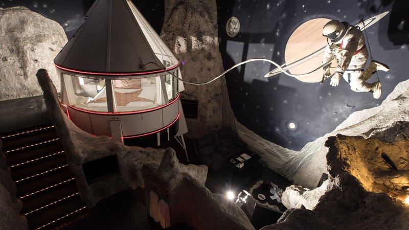 Best Western Fireside Inn-Tranquility Base.Astronaut<br/>Image from Leonardo