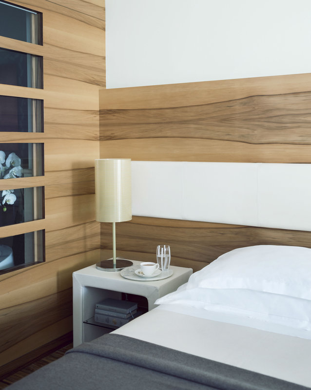 Lefay Resort & Spa-Prestige Deluxe Suite Bed Detail<br/>Image from Leonardo