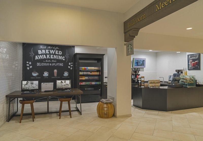 DoubleTree by Hilton Austin-Brewed Awakening Coffee Shop<br/>Image from Leonardo