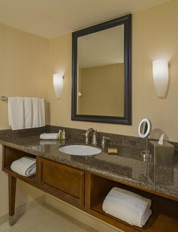 DoubleTree by Hilton Austin-Murphy Room Bathroom<br/>Image from Leonardo