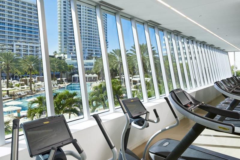 Fontainebleau Miami Beach - Technogym <br/>Image from Leonardo