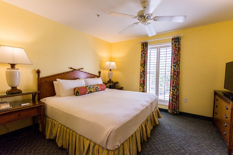 Sunshine Suites-One Bedroom Suite Bedroom Area<br/>Image from Leonardo