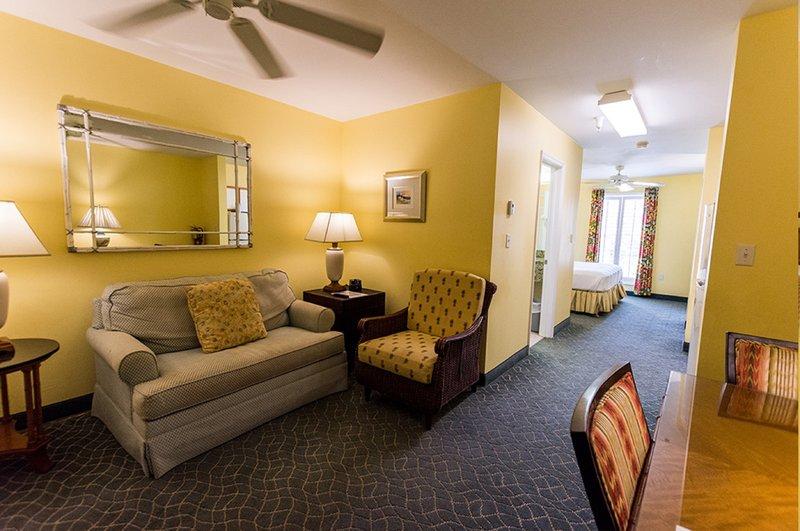 Sunshine Suites-One Bedroom Suite Living<br/>Image from Leonardo