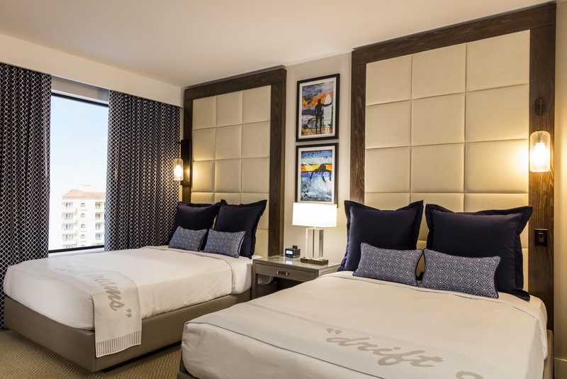 The Waterfront Beach Resort, A Hilton Hotel-Pacific Suite Bedroom<br/>Image from Leonardo