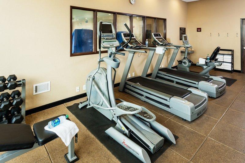 Crowne Plaza Anchorage Midtown-24 hour fitness center at Crowne Plaza Anchorage-Midtown<br/>Image from Leonardo
