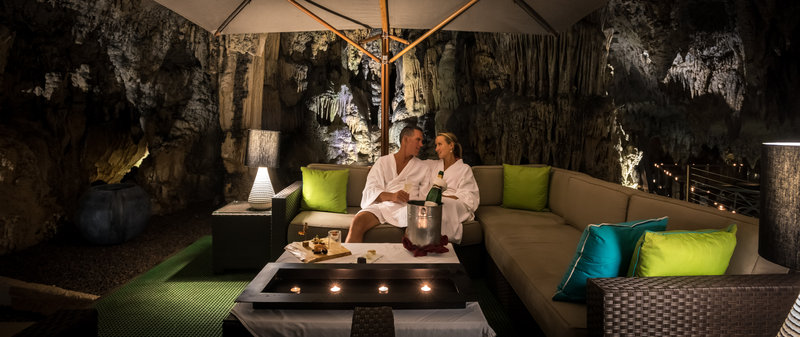 Grotto Bay Resort-Spa Cave Relaxation Area<br/>Image from Leonardo