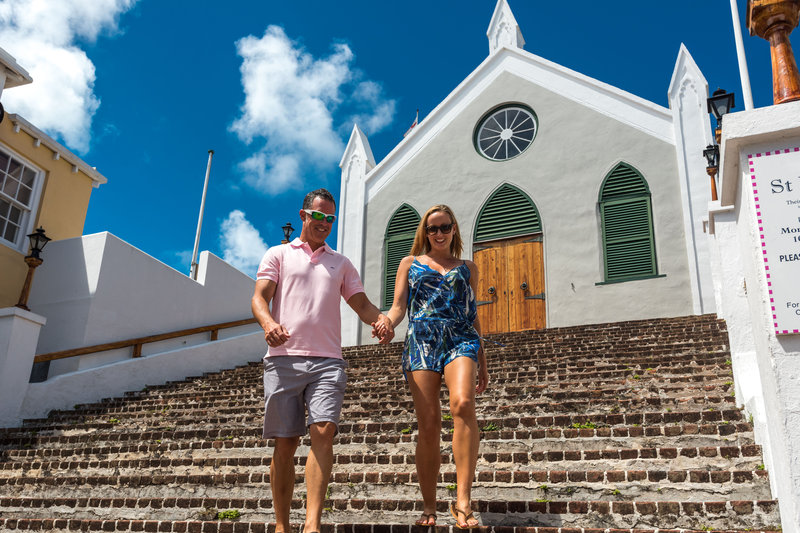 Grotto Bay Resort-St Peters Church, St George<br/>Image from Leonardo