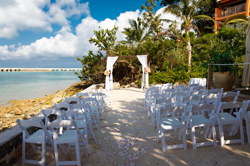 Grotto Bay Resort-Wedding on the Beach 1<br/>Image from Leonardo