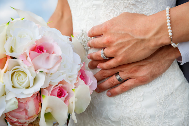 Grotto Bay Resort-Grotto Bay Wedding Hands<br/>Image from Leonardo