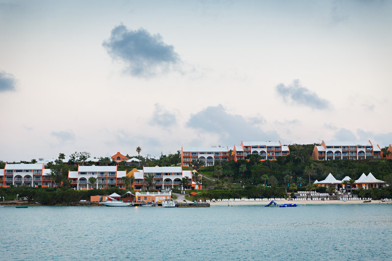 Cambridge Beaches Resort & Spa-Grotto Bay from the Water<br/>Image from Leonardo