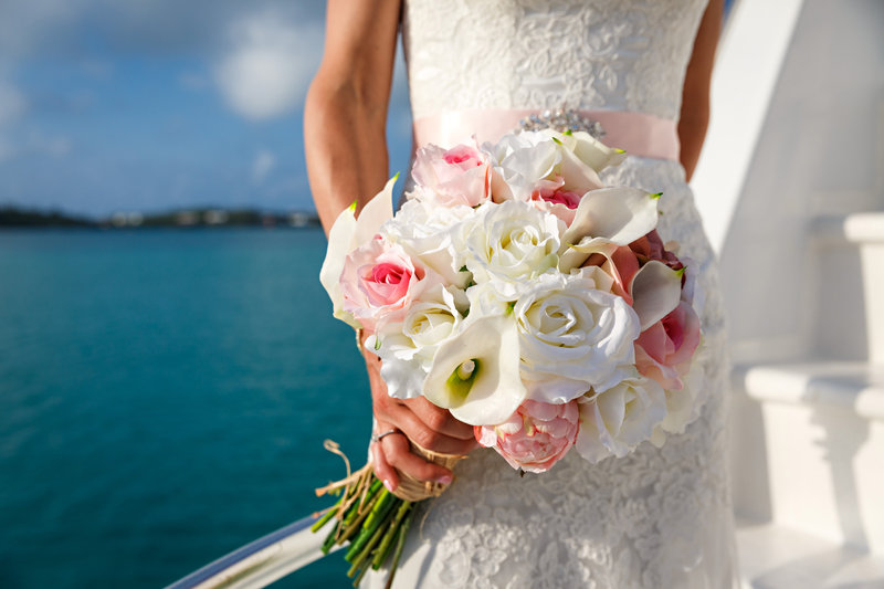 Grotto Bay Resort-Grotto Bay Wedding Bouquet<br/>Image from Leonardo