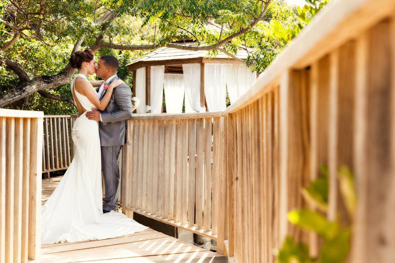 Cambridge Beaches Resort & Spa-Grotto Bay Wedding Pergola 2<br/>Image from Leonardo