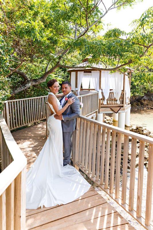 Cambridge Beaches Resort & Spa-Grotto Bay Wedding Pergola 3<br/>Image from Leonardo