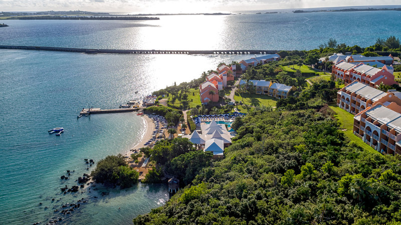 Grotto Bay Resort-Ariel Property South<br/>Image from Leonardo