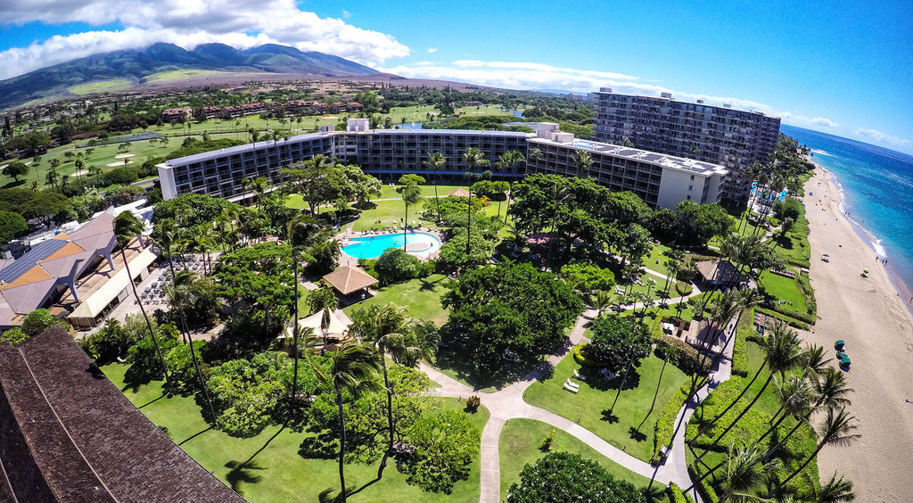 Kaanapali Beach Hotel  - Beach - Resort View <br/>Image from Leonardo