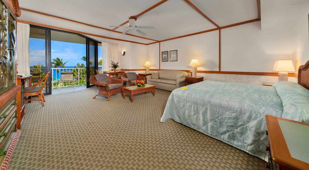 Kaanapali Beach Hotel  - Junior Ocean View Suite <br/>Image from Leonardo