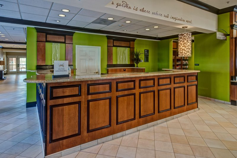 Hilton Garden Inn Indianapolis Northeast/Fishers-Front Desk<br/>Image from Leonardo