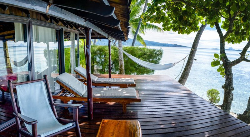 Vahine Island-Beach Suite Terrace<br/>Image from Leonardo
