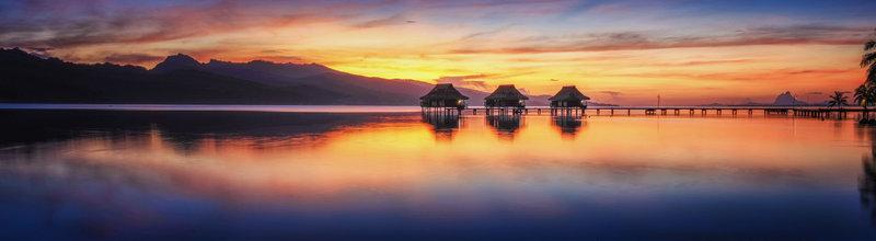 Vahine Island-Sunset<br/>Image from Leonardo