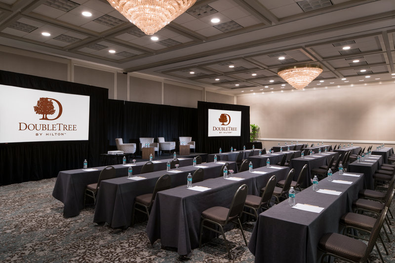 DoubleTree by Hilton Hotel Philadelphia Airport-Classroom Set Up<br/>Image from Leonardo