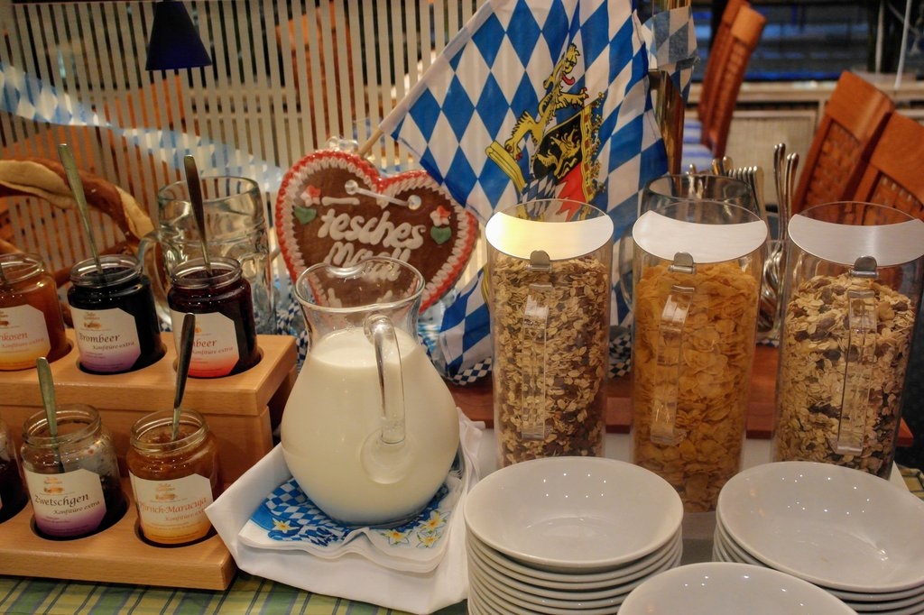 Daniel Hotel-Breakfastbuffet<br/>Image from Leonardo