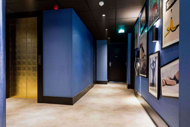 The Albus Hotel Amsterdam City Centre - The Albus - Corridor design <br/>Image from Leonardo