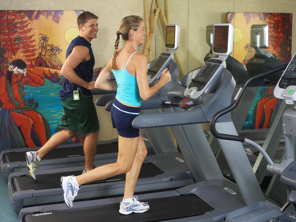 Aston Waikiki Beach Hotel - Fitness Room <br/>Image from Leonardo