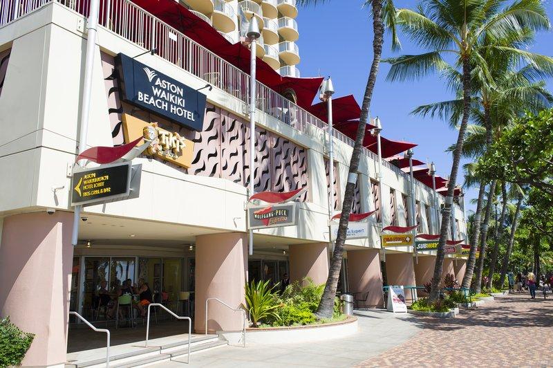 Aston Waikiki Beach Hotel - Hotel Exterior <br/>Image from Leonardo