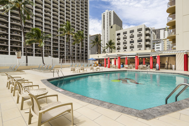 Aston Waikiki Beach Hotel - Hotel Pool View <br/>Image from Leonardo