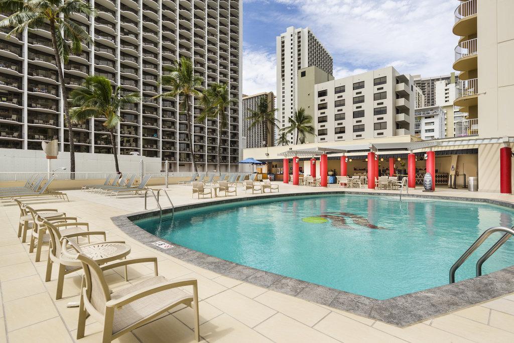 Aston Waikiki Beach Hotel - Hotel Pool View <br/>Image from Leonardo