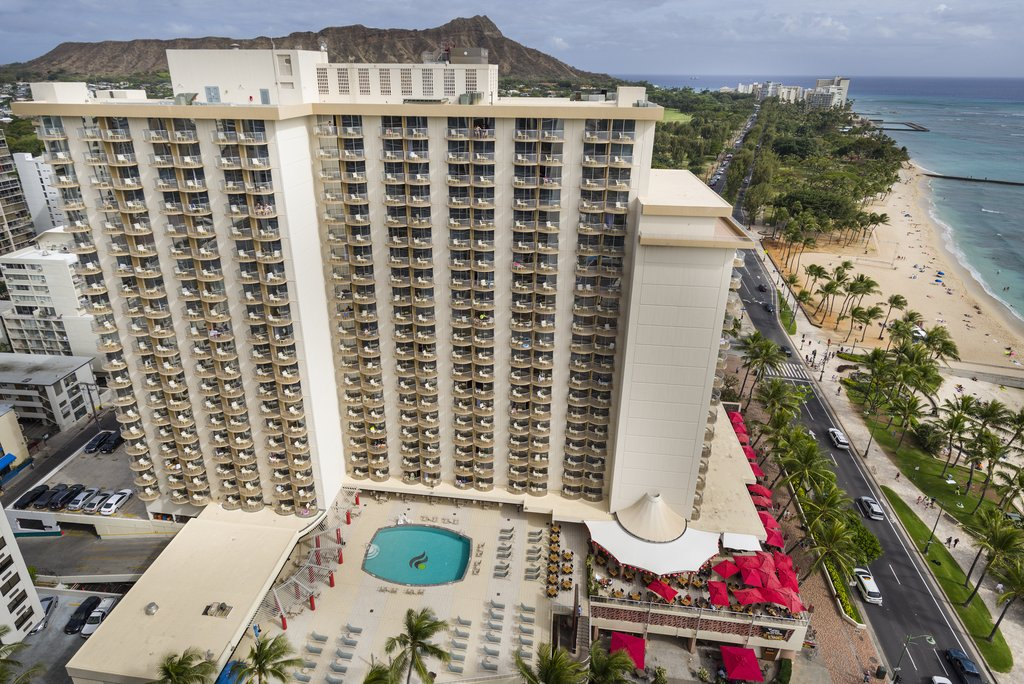 Aston Waikiki Beach Hotel - Hotel Exterior And View <br/>Image from Leonardo