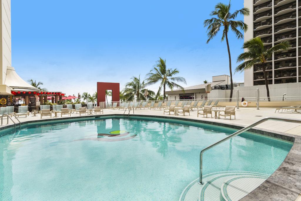 Aston Waikiki Beach Hotel - Hotel Pool <br/>Image from Leonardo