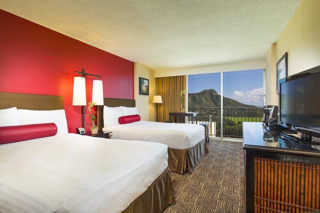 Aston Waikiki Beach Hotel - Hotel Room Ocean View <br/>Image from Leonardo